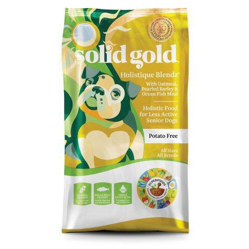 ソリッドゴールド ホリスティックブレンド 肥満/老犬用 6.81kg【送料無料】