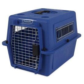 ペットメイト ウルトラ バリケンネル 15lbs (6.8kg) S ブルー 犬猫用【送料無料】