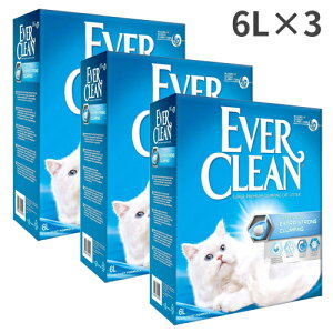 エバークリーン 無香タイプ 6L 猫用 6L×3箱入