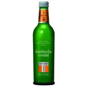 ハーブコーディアル コムブッカ 375ml伝統のナチュラルハーブ飲料。ソーンクロフト 紅茶きのこコンブチャ