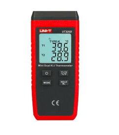 全国送料無料 UNI-T社[UT320D]デジタル温度計 熱電対センサー 2チャンネル UT320D