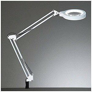 全国送料無料 LED照明付スタンドルーペ拡大鏡 Z-37NLW