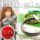【メール便可】存在感バツグン【カラフルリングバングル】BANGLE全体的に丸みのあるカラフルアクセ(acc-091)