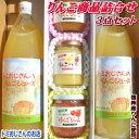 【送料無料】長寿の国!信州から贈るトミおじさんのりんごジュース!りんごバター!りんごジャム!3点セット!紅玉ジャムも仲間入り!長野県産サンふじ使用!