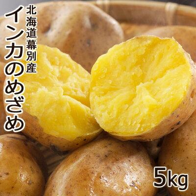北海道 幕別産 インカのめざめ 5kg【送料無料】北海道産 じゃがいも 越冬