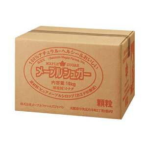TOMIZ cuoca(富澤商店・クオカ)メープルシュガー(顆粒) / 10kg