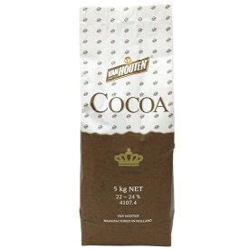 TOMIZ cuoca(富澤商店 クオカ) バンホーテン 純ココア/ 5kg ココアパウダー