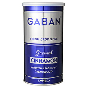 TOMIZ cuoca(富澤商店・クオカ)ギャバン シナモン粉末(缶) / 300g スパイス スパイシースパイス(花・つぼみ・木皮・根