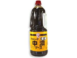 TOMIZ cuoca(富澤商店・クオカ)ブルドック 中濃ソース(徳用) / 1.8L イタリアンと洋風食材 ソース