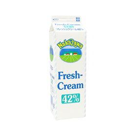 TOMIZ cuoca(富澤商店・クオカ)中沢 フレッシュクリーム42% 【冷蔵便】/ 1000ml 生クリーム・クリーム類 クリーム 1000ml