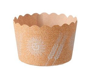 TOMIZ cuoca(富澤商店・クオカ)パネトーネカップ(小) / 100枚 ベーキングカップ マフィンカップ