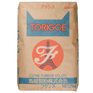 TOMIZ cuoca(富澤商店・クオカ)フランス(鳥越製粉) / 25kg フランス / ハードパン用粉(準強力粉) 準強力小麦粉