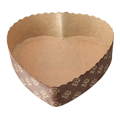 TOMIZ cuoca(富澤商店・クオカ)紙デコ型(ハート型) / 5枚 ベーキングカップ その他焼成紙型