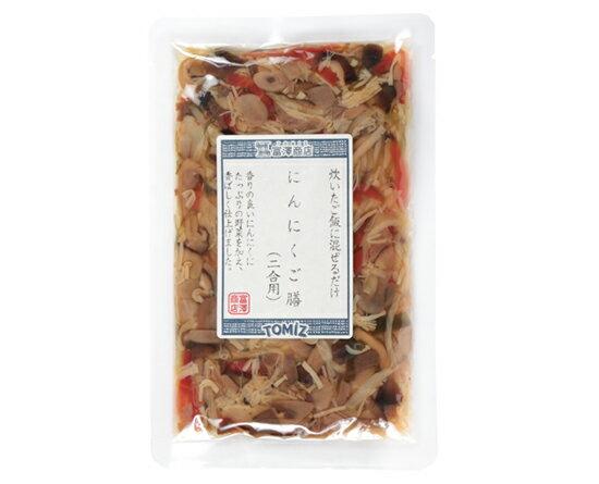TOMIZ cuoca(富澤商店・クオカ)にんにくご膳 / 110g 和食材(加工食品・調味料) ふりかけ・佃煮・炊き込みご飯