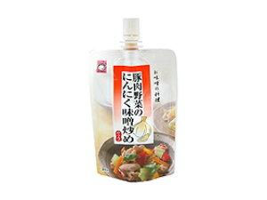 TOMIZ cuoca(富澤商店・クオカ)豚肉野菜のにんにく味噌炒め / 100g 秋