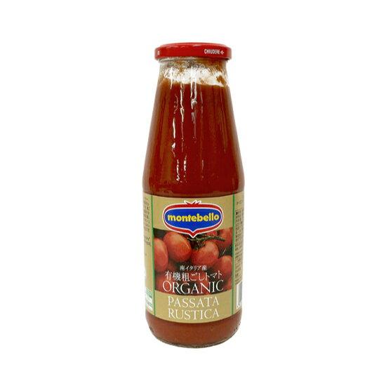 TOMIZ cuoca (富澤商店 クオカ) モンテベッロ 有機粗ごしトマト / 700g イタリアンと洋風食材 トマト