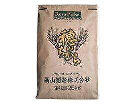 TOMIZ cuoca(富澤商店・クオカ)穂のちから(ゆめちからブレンド)横山製粉 / 25kg パン用粉(強力粉) 強力小麦粉 業務用