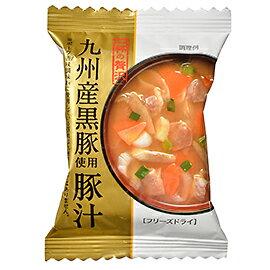 TOMIZ cuoca(富澤商店・クオカ)一杯の贅沢 九州産黒豚使用豚汁 / 1食(10.5g) 和食材(加工食品・調味料) スープ・雑炊・茶漬け
