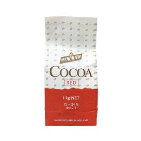 TOMIZ cuoca(富澤商店・クオカ)バンホーテン ココアパウダーRED / 1kg ココア・カカオ ココア