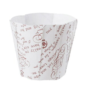 TOMIZ cuoca(富澤商店・クオカ)ペットケーキカップ ノーブル柄 / 10枚 ベーキングカップ カップケーキ