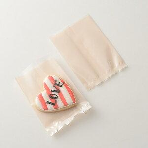 TOMIZ cuoca(富澤商店・クオカ)熱シール対応 OPP袋 クリーム 70×100 / 100枚 菓子袋 OPP袋
