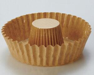 TOMIZ cuoca(富澤商店・クオカ)リングカップ 茶無地 / 10枚 ベーキングカップ カップケーキ