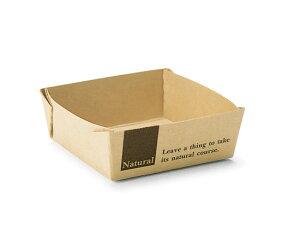 TOMIZ cuoca(富澤商店・クオカ)ミニベイクドトレー ナチュラル / 50枚 ベーキングカップ パウンド焼成紙型・ベーキングトレー