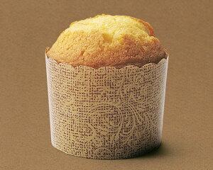 TOMIZ cuoca(富澤商店・クオカ)ペルガミンカップ アンティーク / 10枚 ベーキングカップ マフィンカップ