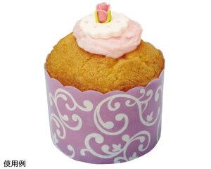 TOMIZ cuoca(富澤商店・クオカ)ホワイティカップ エレガントパープル / 10枚 ベーキングカップ カップケーキ