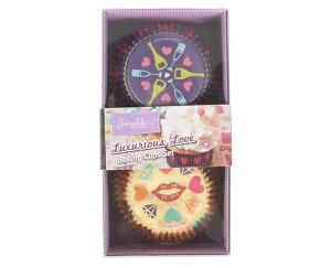 TOMIZ cuoca(富澤商店・クオカ)ベーキングカップ パーティーラブ / 1セット ベーキングカップ カップケーキ