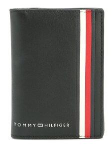 [Rakuten Fashion]【SALE/30%OFF】(M)TOMMY HILFIGER(トミーヒルフィガー) シグネチャーテープバイフォールド カードケース TOMMY HILFIGER トミーヒルフィガー 財布/小物 パスケース/カードケース ブラック