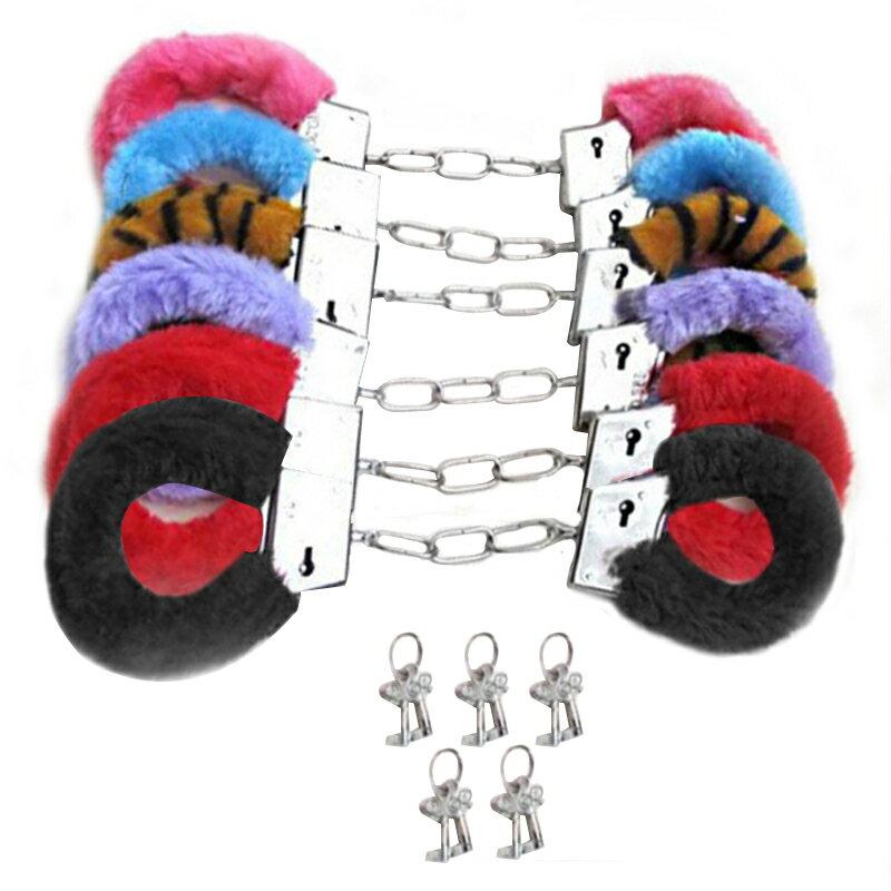 あす楽 ファー付き おもちゃ 手錠 ポリス コスプレ小物 警察 ハロウィン 変装 道具