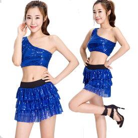 74b35995712 【2】あす楽 ブルー きらきら パンツ チアガール レースクイーン コスプレ 衣装 コスチューム 変装