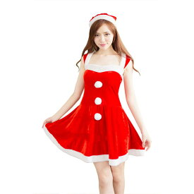 8177de9cc18f9  赤 2 あす楽 3個ボンボン クリスマス サンタ コスプレ 衣装 レディース コスチューム