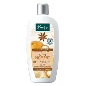 クナイプ バスミルク コージーモーメント スイートオレンジ&スターアニスの香り 480ml