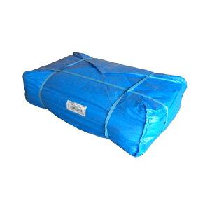 KO#30001010(厚手)ブルーシート 10×10 #3000 10m×10m 2枚セット 輸入品