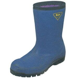 EZレコ4DX エンゼル(ANGEL) 作業靴 防寒作業靴 (樹脂先芯) 冷蔵庫長デラックス紺(レコ4DX) 23cm〜29cm