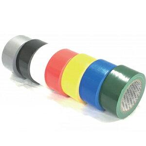 SA160396 布ガムテープ カラー 白 100×25m 18巻×1箱 商品コード160396 (No39-1)
