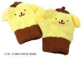 ポムポムプリン キャラクター ミトン 手袋 防寒用(あったか ぽかぽか かわいいキャラクター おすすめ)