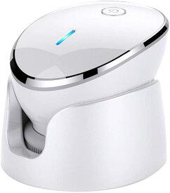 送料無料 電動洗顔ブラシ ボディブラシ 電動音波洗顔 食品級シリコン洗顔器 記憶機能付き クレンジングブラシ 毛穴ケア アニオン導入 防水 充電式 顔マッサージャー器