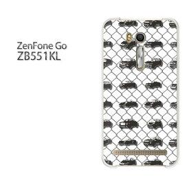 ゆうパケ送料無料 ZenfoneGO ZB551KLzb551kl ゼンフォン zenfone go ASUSクリア 透明 ハードケース ハードカバーアクセサリー スマホケース スマートフォン用カバー [シンプル・車(白)/zb551kl-pc-ne210]