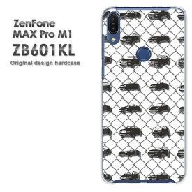 ゆうパケ送料無料 ZenfoneMaxProM1 ZB601KLzb601kl ゼンフォン zenfone MAX Pro m1 ASUSクリア 透明 ハードケース ハードカバーアクセサリー スマホケース スマートフォン用カバー [シンプル・車(白)/zb601kl-pc-ne210]