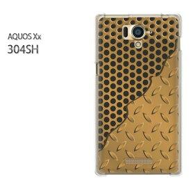 ゆうパケ送料無料【SoftBank AQUOS Xx 304SHケース】[304sh ケース][ケース/カバー/CASE/ケ−ス][アクセサリー/スマホケース/スマートフォン用カバー][シンプル・メタル(ゴールド)/304sh-pc-new1844]