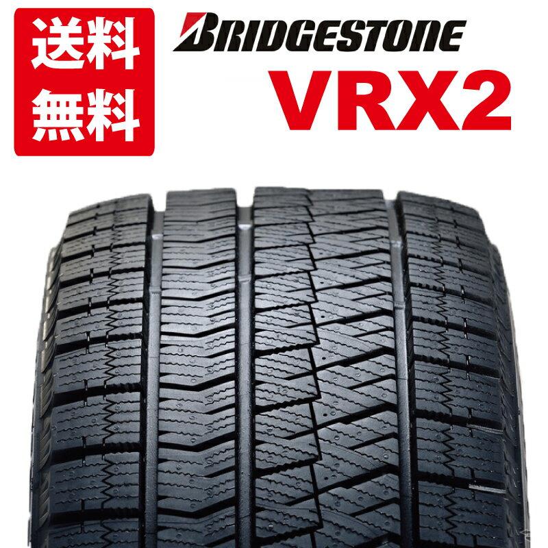 【送料無料】新品 2018年製ブリジストン 4本セット スタッドレス VRX2 155/65R14