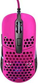Xtrfy エクストリファイ M42 RGB 両手用 左右対称 超軽量 ゲーミングマウス 日本正規代理店保証品 (ピンク) 701305