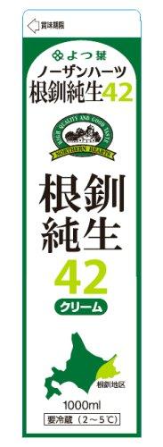 よつ葉北海道根釧生クリーム42% 1000ml