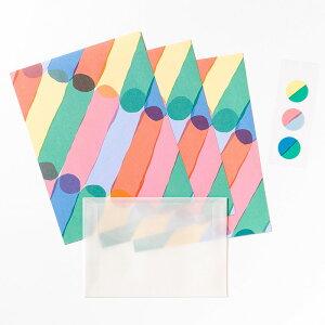 レターセット《JUICE》Early かわいい レターセット 手紙 雑貨 ブランド AIUEO letter set 封筒 便箋 キュート AJL-01