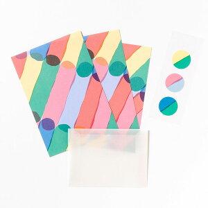 ミニレターセット《JUICE》Early かわいい ミニサイズ レターセット 手紙 雑貨 ブランド AIUEO letter set 封筒 便箋 キュートAJLM-01
