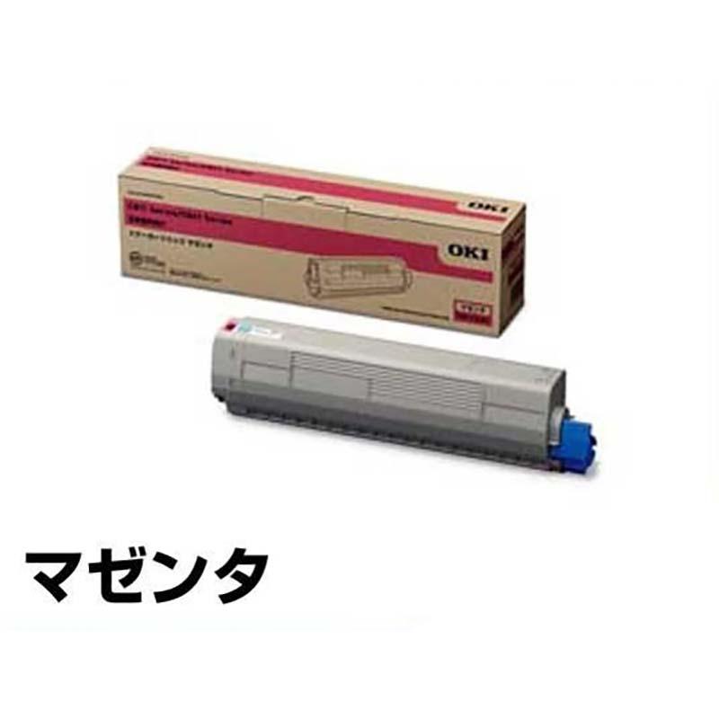 沖データ OKI TNR-C3LM1トナーカートリッジ 赤/マゼンタ 純正 C811dn、C811dn-T、C841dn、MC863dnw、MC863dnwv、MC883dnw、MC883dnwv、MC843dnw、MC843dnwv 用トナー