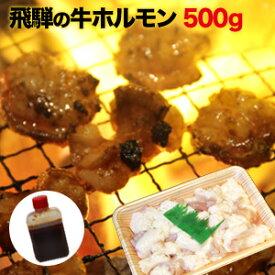 【送料無料】 飛騨のホルモン焼きセット 岐阜県産 500g